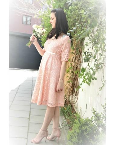 Vintage, occasion matternity lace dress