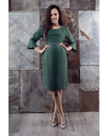 Divine leaf green pregnancy dress
