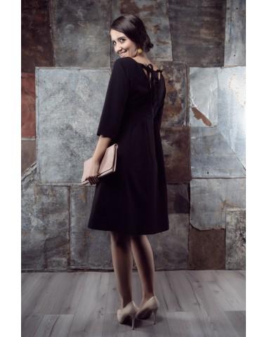 Little black maternity dress