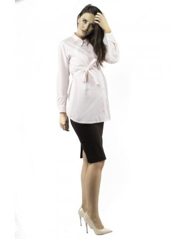 Pink pregnancy shirt