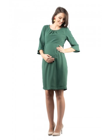 Divine leaf green pregnancy dress